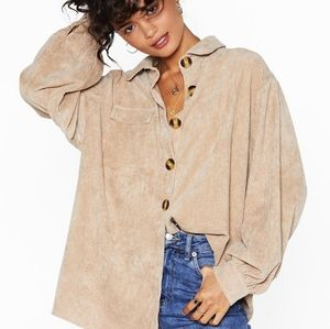 Nasty Gal Oversized BRAND new Top